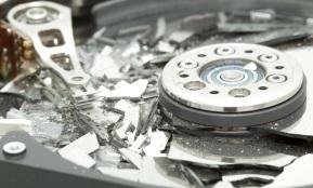 Уроненный жесткий диск