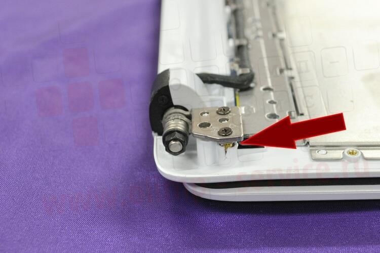 Ремонт крышки ноутбука