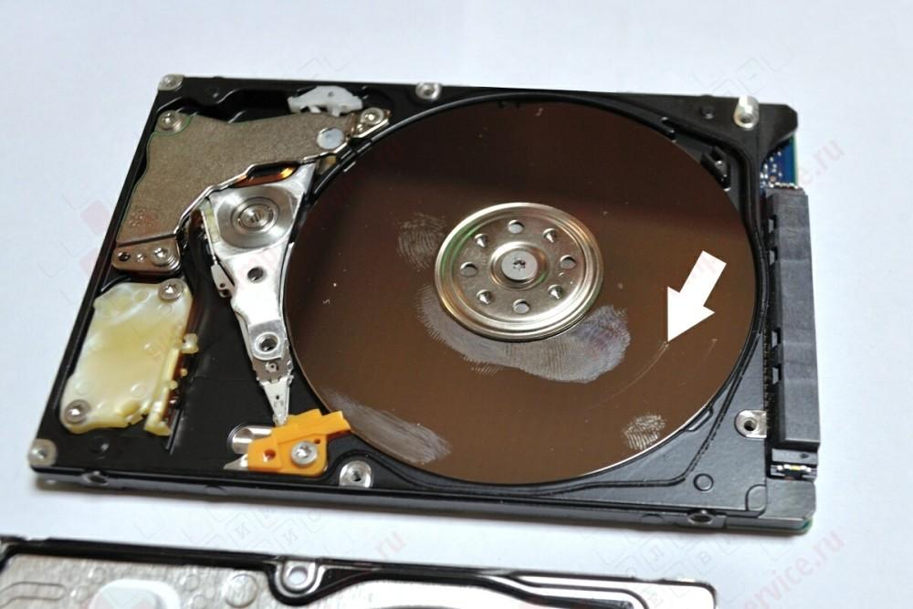 Ремонт жёстких дисков ноутбуков своими руками 249