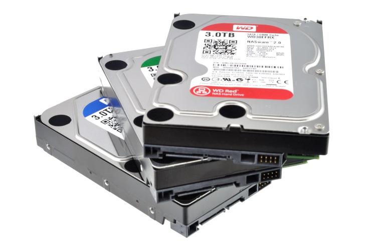 Ремонт жестких дисков Western Digital