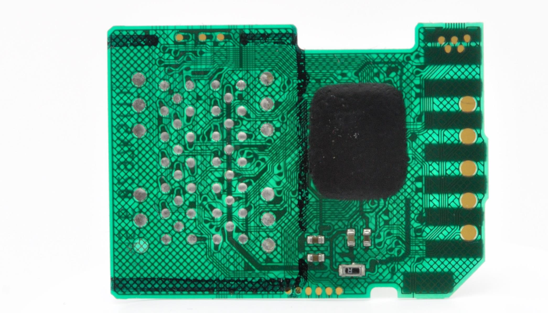 Плата sd карты памяти на просвет