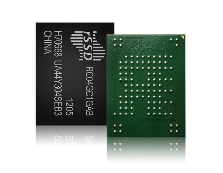 on chip ssd disk
